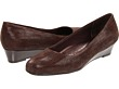 Dark Brown Suede Patent Leather