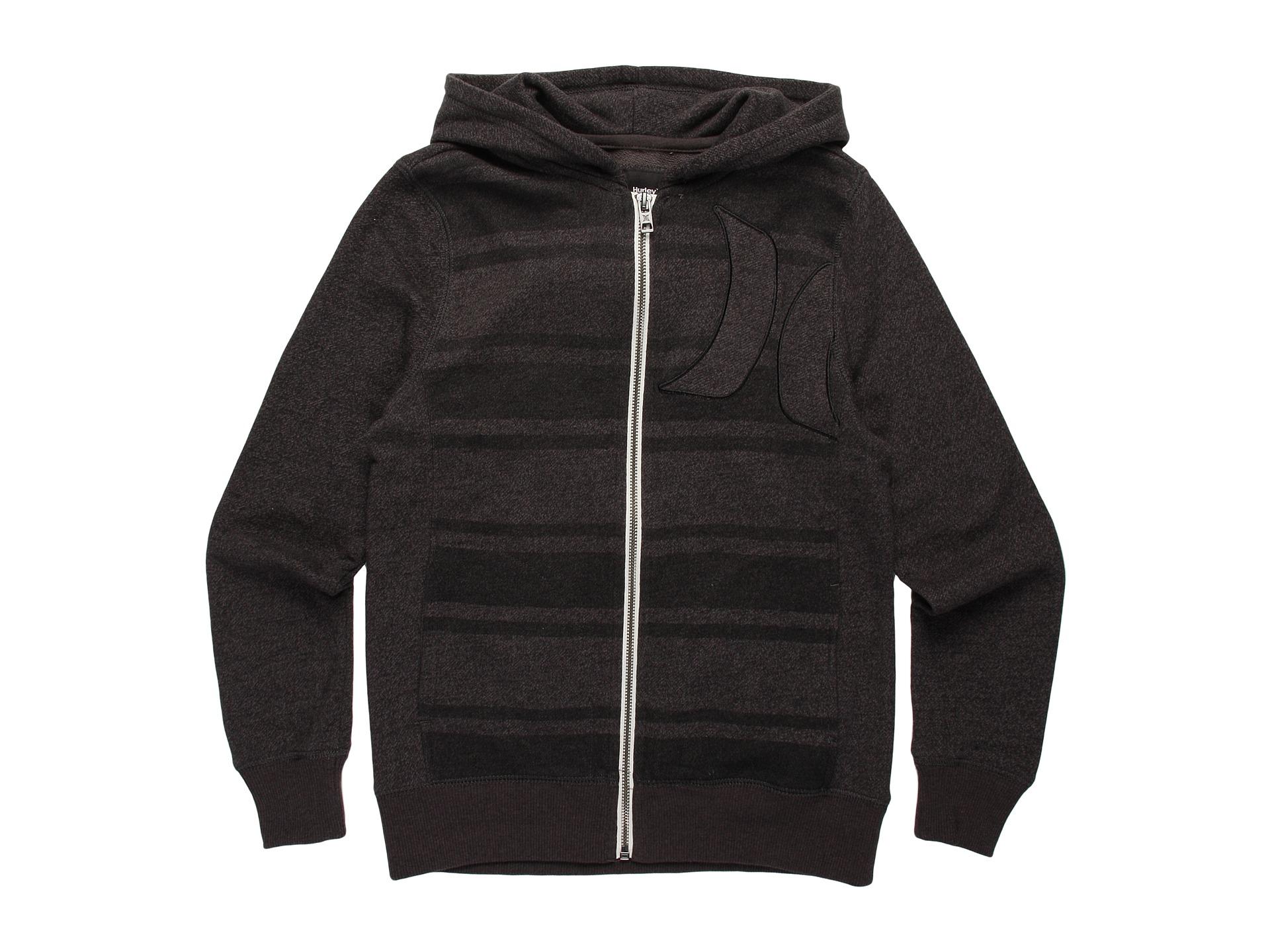 hurley kids vacation stripe zip hoodie $ 40 99 $