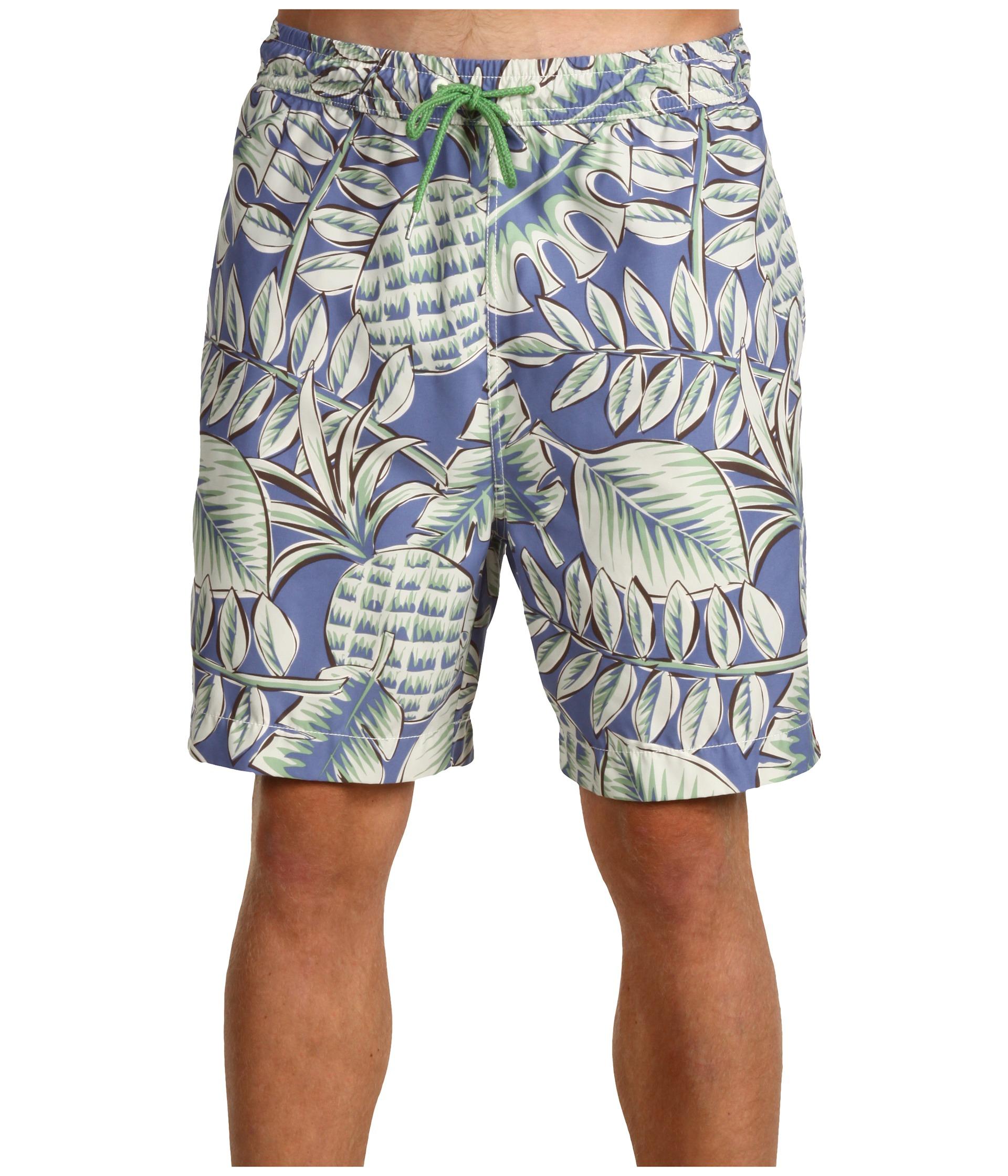 Tommy Bahama Big & Tall   Big & Tall A Royal Lush Swim Trunks