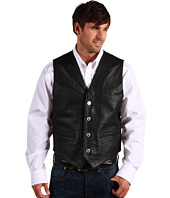 Roper - Nappa Notch Collar Vest