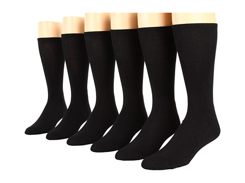 Ecco Socks Dress Cushion Mercerized Cotton - 6 pack