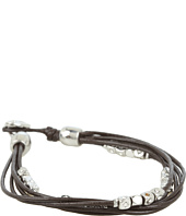 Fossil - Dainty Strands Leather Wrap Bracelet