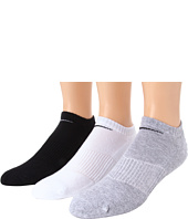 Nike - Cotton Cushion No Show with Moisture Management 3-Pair Pack