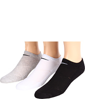Nike Kids - Cotton Cushion No Show Socks w/ Moisture Management 3-Pair Pack (Little Kid/Big Kid)