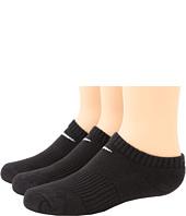 Nike Kids - Cotton Cushion No Show Socks w/ Moisture Management 3-Pair Pack (Little Kid/Big Kid)