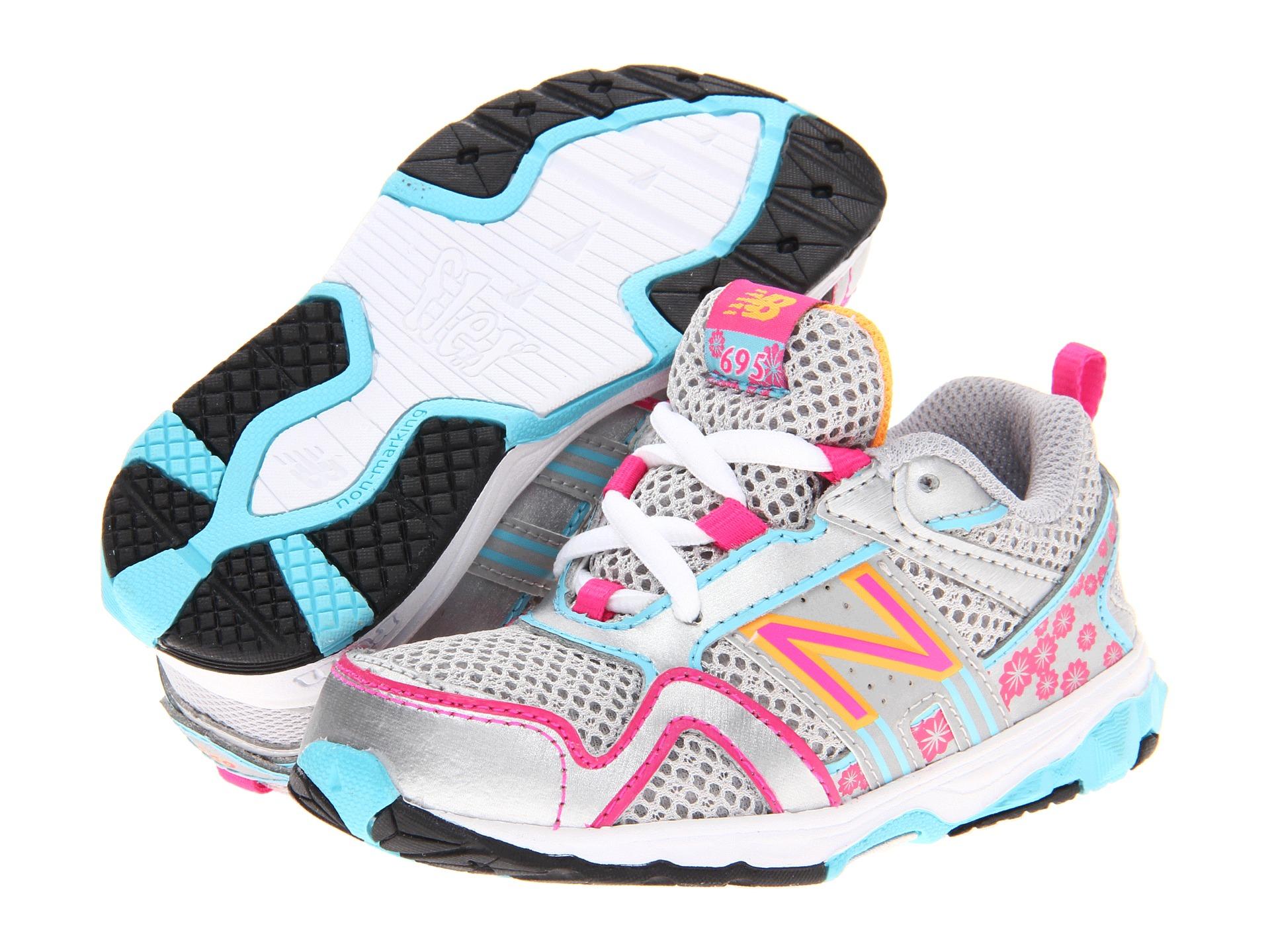 New Balance Kids Kj695 Infant Toddler Pink Blue