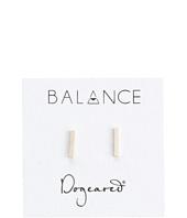 Dogeared - Balance Flat Bar Stud Earrings
