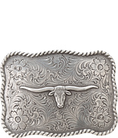 M&F Western - Antiqued Longhorn Buckle