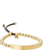 Michael Kors - Logo Plaque Stretch Bead Bracelet
