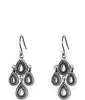 Lucky Brand - Blue Moon Moveable Tribal Chandelier Earrings