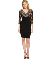 Adrianna Papell - L/S Lace Band Dress