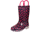 Wild Cat Lighted Rain Boot (Toddler/Little Kid)