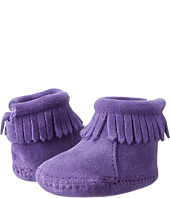 Minnetonka Kids - Suede Back Flap Bootie (Infant/Toddler)