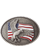 M&F Western - Eagle Flag Oval Buckle
