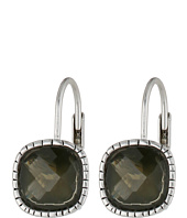 The Sak - Cushion Stone Leverback Earrings