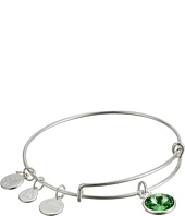 Alex and Ani - August Birthstone Charm Bangle
