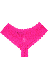 Hanky Panky - Signature Lace Crotchless Cheeky Hipster