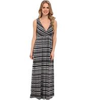 Mod-o-doc - Beach Stripe Cotton Modal Maxi Dress
