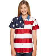 Roper - S/S Stars and Stripes Pieced Flag