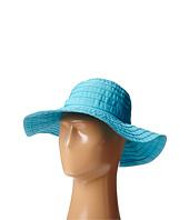 SCALA - Crushable Big Brim Ribbon Sun Hat