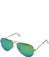 Ray-Ban - RB3025 Aviator Polarized Flash Lenses 58mm