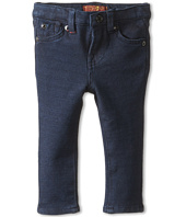 7 For All Mankind Kids - Skinny Jean in Indigo Ponte Knit (Infant)