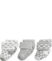 Jefferies Socks - Turn Cuff 3 Pack (Infant/Toddler)