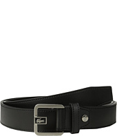 Lacoste - Premium Leather Dress Belt Metal Croc