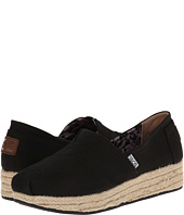 BOBS from SKECHERS - Wedge Espadrille Memory Foam
