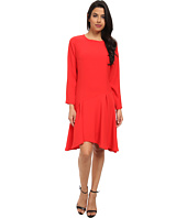 Vince Camuto - Long Sleeve Dress w/ Asymmetrical