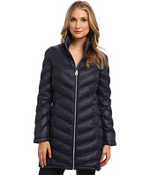 Calvin Klein - Zip Front Long Packable Down Jacket CW312100