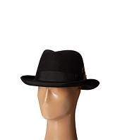 Stacy Adams - Homburg Wool Felt Hat w/ Grosgrain Band