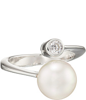 Majorica - 10mm Pearl & CZ Wrap Ring