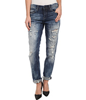 Blank NYC - Distressed Denim Boyfriend Relaxed Straight Jean in Fit Of Rage