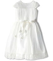 Us Angels - Point D' Esprit Dress (Little Kids)