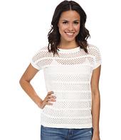 Mod-o-doc - S/S Mesh Stripe Pullover