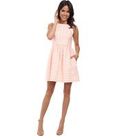 Jessica Simpson - Coral Overlay Dress