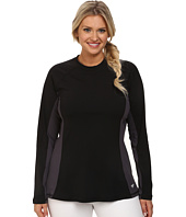 Speedo - Plus Size Long Sleeve Rashguard