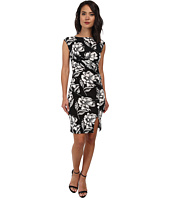 French Connection - Shadlow Bloom Mono Dress 71DHW