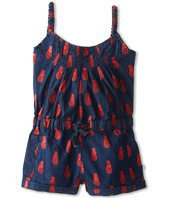 Appaman Kids - Pinapple Print Romper with Elastic straps (Toddler/Little Kids/Big Kids)