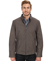 Marc New York by Andrew Marc - Nelson - Nubuck Zip Front Racer Jacket