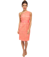 Laundry by Shelli Segal - One Should Lace Dress with Grograin At Waist