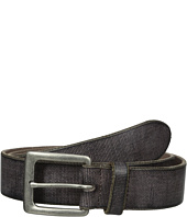 John Varvatos Star U.S.A. - 38mm Canvas Leather Harness Buckle