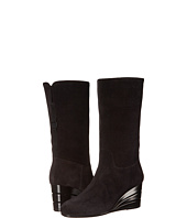 Salvatore Ferragamo - Leather Boot With Wedge
