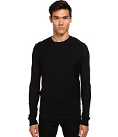 DSQUARED2 - Zipper Detail Crew Neck Sweater