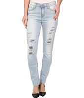 Hudson - Custom Shine Mid Rise Skinny Jeans in Alley Cat