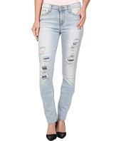 Hudson - Custom Shine Mid Rise Skinny Jeans in Alley Cat