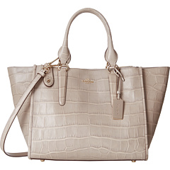 COACH Embossed Croc Carryall Bag