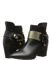 Just Cavalli - Low Heel Bootie with Gold Hardware