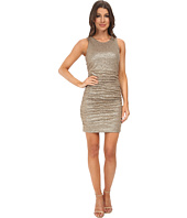 Aidan Mattox - Sleeveless Stretch Sequin Knit Cocktail Dress
